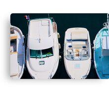 Top Boat Canvas Print