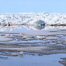 Ice on lake II by zumi