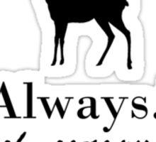 I trust severus snape - doe Sticker