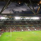 Reds v Crusaders, Suncorp Stadium by Angela Millear