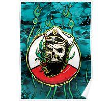 Davy Jones - Turquoise Poster