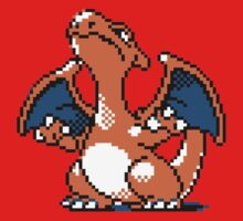 Charizard - Old School Kids Clothes