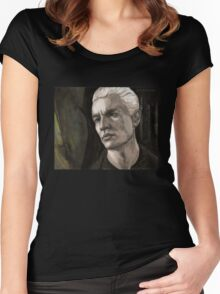 The Yoko Factor - Spike - BtVS Women's Fitted Scoop T-Shirt