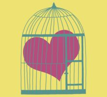 Heart in Cage Kids Clothes