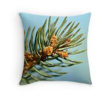 Conifer Tip II Throw Pillow