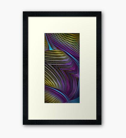 Splits  Framed Print