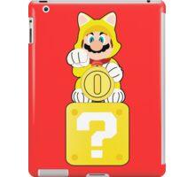 Lucky Cat Mario iPad Case/Skin