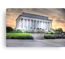 Lincoln Memorial Canvas Print