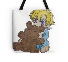 Baby Tamaki Suoh with Kuma-chan the bear Tote Bag