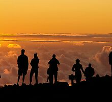 Sunrise at Mt Haleakala  by Scott Erskine