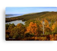 An Autumn View of the Quabbin Canvas Print