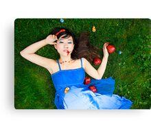 Snow White - Bad Apples Canvas Print