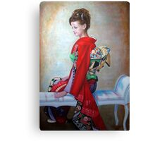 Greeting from Japan Canvas Print