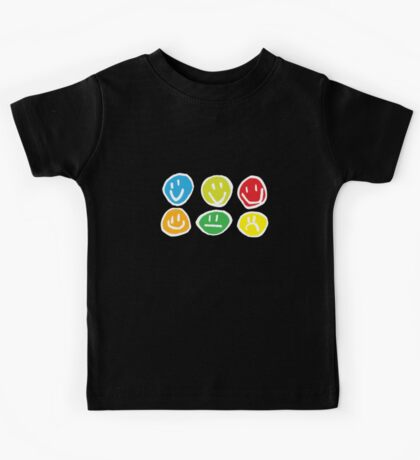 if you're happy and you know it ... (white) Kids Tee