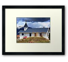 Country Church Framed Print