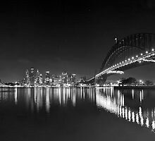 Kirribilli Night by donnnnnny