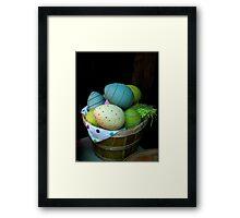 """""""EASTER BASKET"""" Framed Print"""