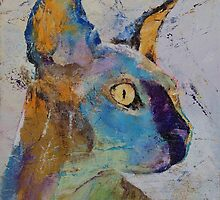 Sphynx Cat by Michael Creese