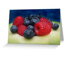 Yummy for the tummy... Greeting Card