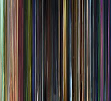 Moviebarcode: Toy Story 3 (2010) by moviebarcode