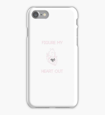 Figure My Heart Out iPhone Case/Skin