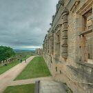 The Terrace at Bolsover Castle by John Hare