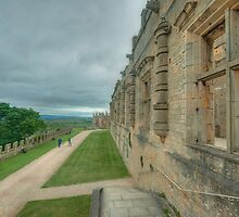 The Terrace at Bolsover Castle by John Hare