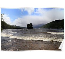 A Very Windy Day on Loch Tay Poster