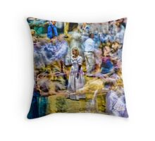 ...ghost dancing... Throw Pillow