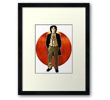The 8th Doctor - Paul McGann Framed Print