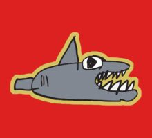 chomp! with outline One Piece - Long Sleeve