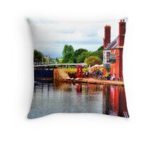 Bank Holiday Throw Pillow
