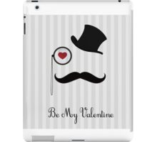 hat valentine iPad Case/Skin