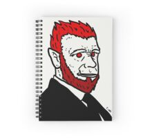 Asuras in Suits 2 Spiral Notebook