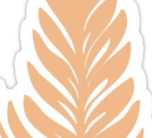 Creamy Rosetta Sticker