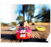 Car surfing mouse! Poster