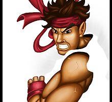 Ryu Hadouken by linebender
