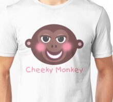 Cheeky Monkey Unisex T-Shirt