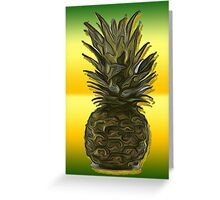 The Pineapple / Fruit Shop Greeting Card