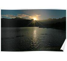 Sunrise - Flinders Island, Tasmania Poster