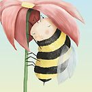 Sleepy Bee by fizzyjinks