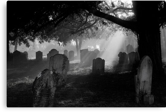 Grave Rays 2 by ajgosling