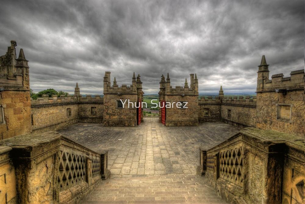 Little Castle Entrance - Bolsover Castle by Yhun Suarez