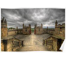 Little Castle Entrance - Bolsover Castle Poster