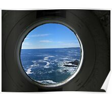 Portland Headlight - A View from Inside Poster