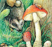 Mushrooms by Natalie Berman