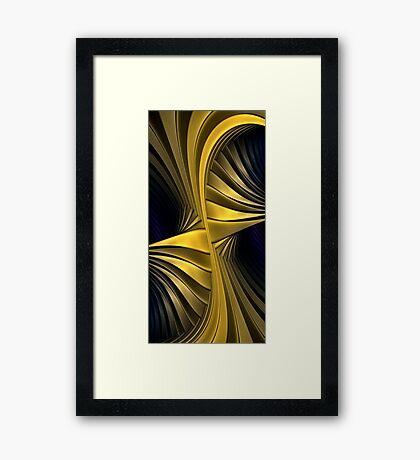 Guilded Gold Framed Print