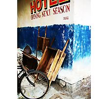 Base Camp Hotel, Mt. Everest Photographic Print