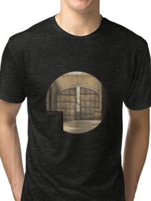 CSGO Dust 2 - Mid Doors Tri-blend T-Shirt