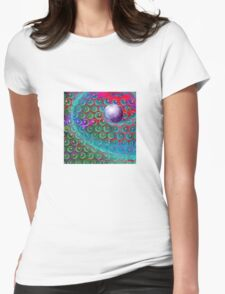 Space Hive 2 T Shirt Womens Fitted T-Shirt